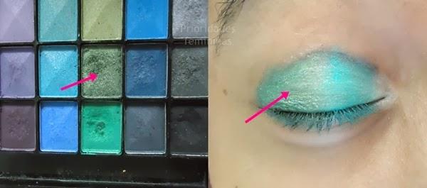 tutorial maquiagem verde