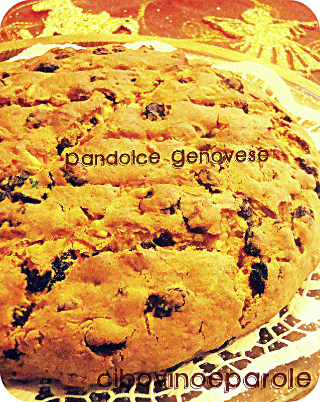 Pandolce Genovese - ricetta