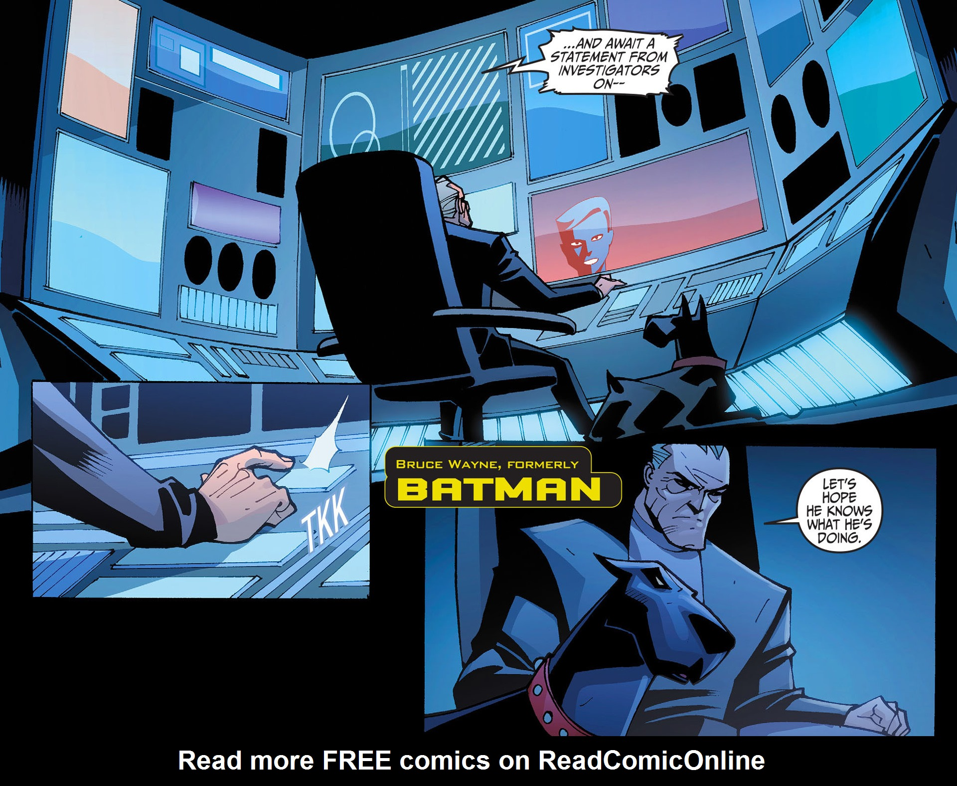 Batman Beyond 2.0 Issue #2 #2 - English 4