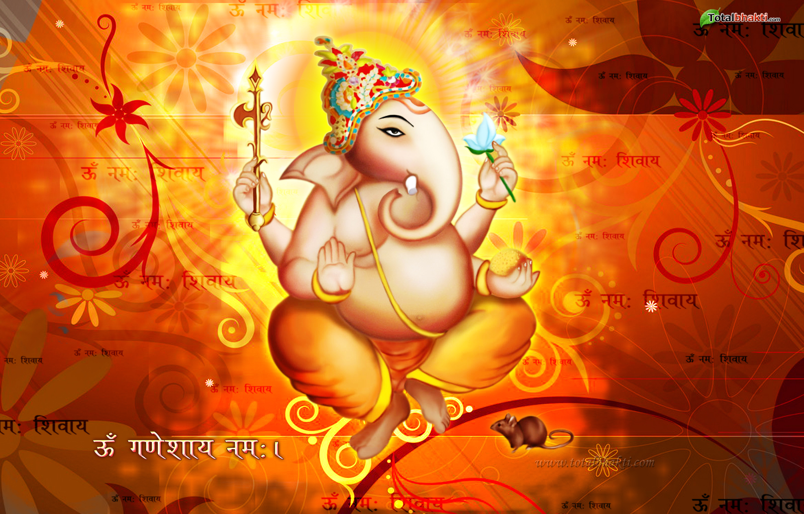 lord ganesha wallpaper computer background - photo #7