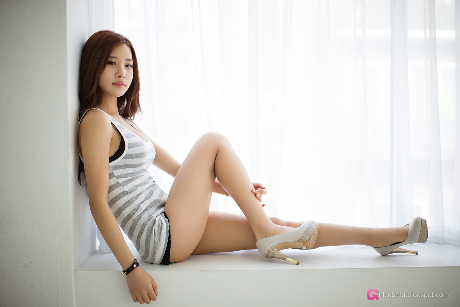 1 Morning Photo Session With Gorgeous Yeon Ji Eun - very cute asian girl-girlcute4u.blogspot.com