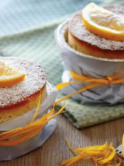 Limonlu mini kek