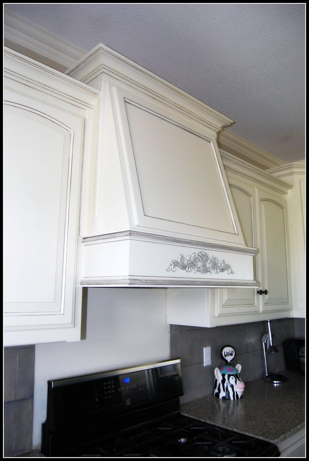 Range Hood Cover ~ Kcfauxdesign diy decorative hood range vent