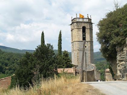 El campanar de l'església parroquial de Sant Quirze Safaja