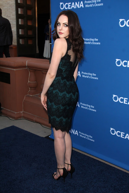 Actress, Singer @ Elizabeth Gillies - Oceana Concert for our Oceans in Beverly Hills