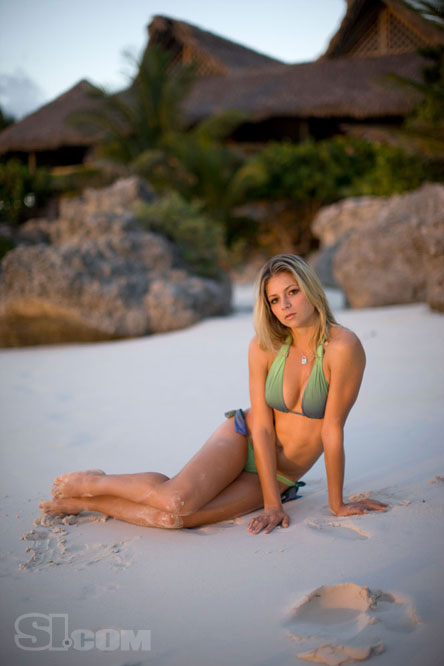 at blog maria kirilenko photoshoot at beach