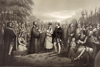 Most Famous Immortal Love Stories In History And Literature Pocahontas and John Smith