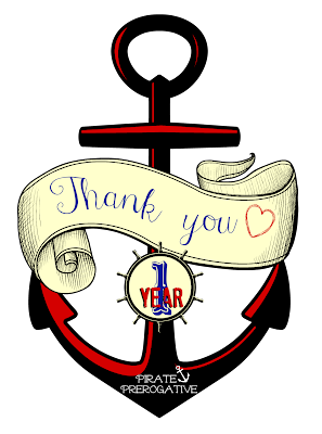 Pirate Prerogative thanks you for 1 year!