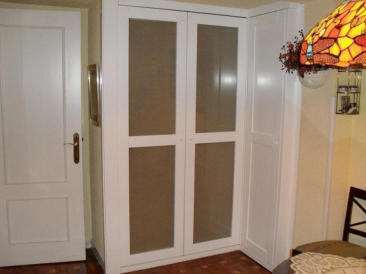 Librerias a medida madrid muebles librerias lacadas de calidad armarios puertas correderas y - Puertas de armario abatibles ...