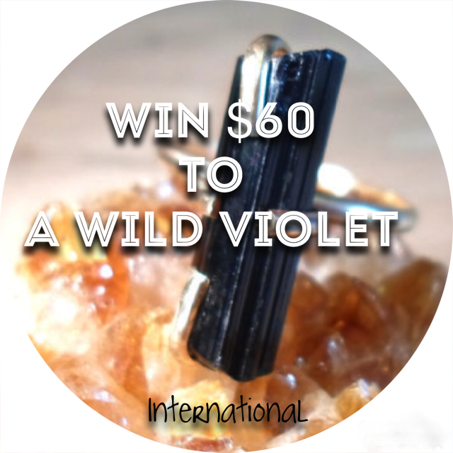 freebie, freebie friday, sweepstakes, contest, giveaway, handmade jewelry, etsy, a wild violet, handmade rings, win it