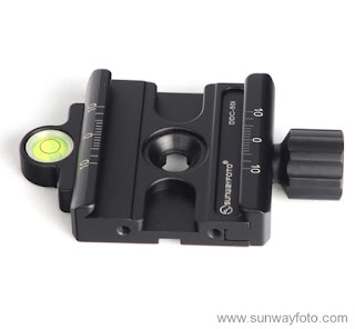 Sunwayfoto DDC-50i QR Clamp Side-topview