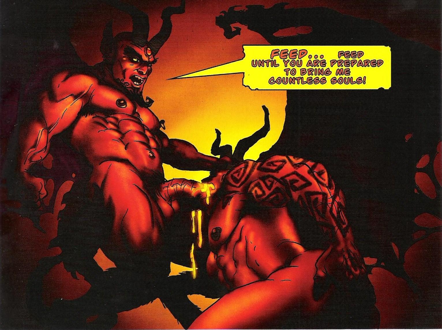 Demonic sex comic think, that
