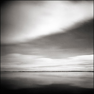 Blue Lake - Black and White Seascapes