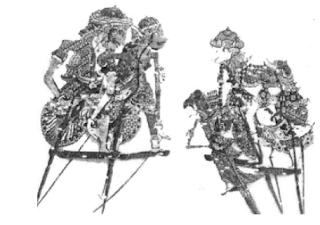 Wayang Kulit Menak (Prabu Lamdahur, Prabu Nusirwan, Dewi Muninggar, Wong Agung Jayengrono dan Umar Moyo)