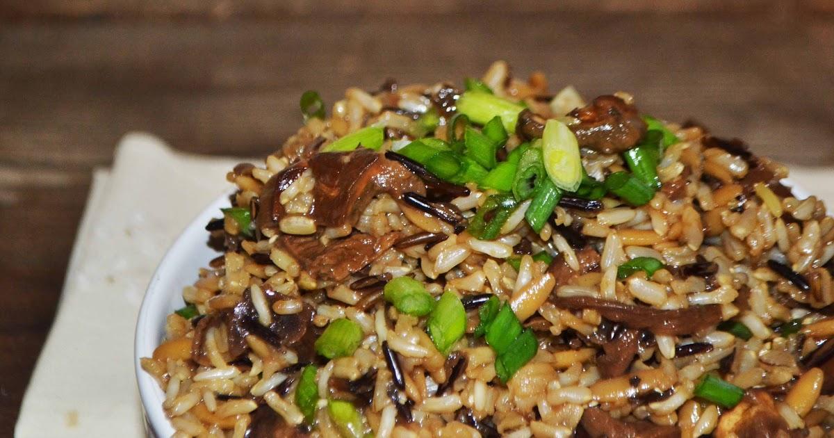 Bakeaholic Mama: Wild Rice Pilaf w/Mushrooms