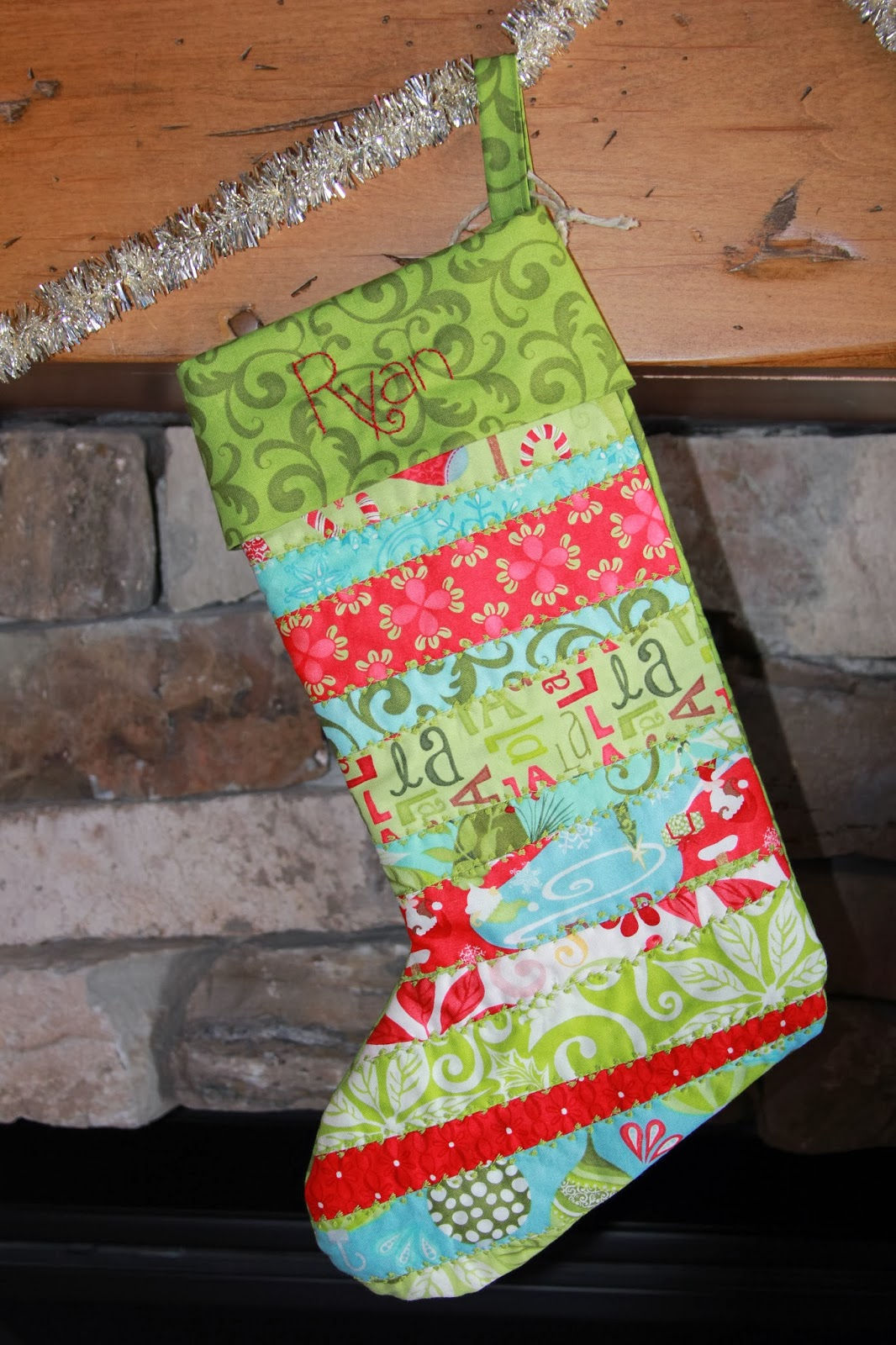 Time of Our Lives: Quilted Christmas Stockings