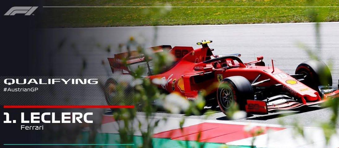 Diretta Gp Austria F1 Streaming Oggi Partenza Gara Gratis Su Sky Forza Ferrari Notizie Fresche