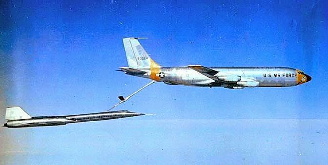 SR-71 Refueling at Groom Lake