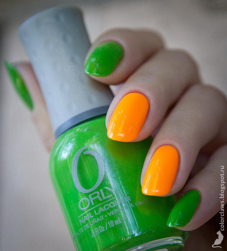 Orly Fresh + Tropical Pop
