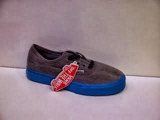 Sepatu Vans Authentic Classic HF warna abu