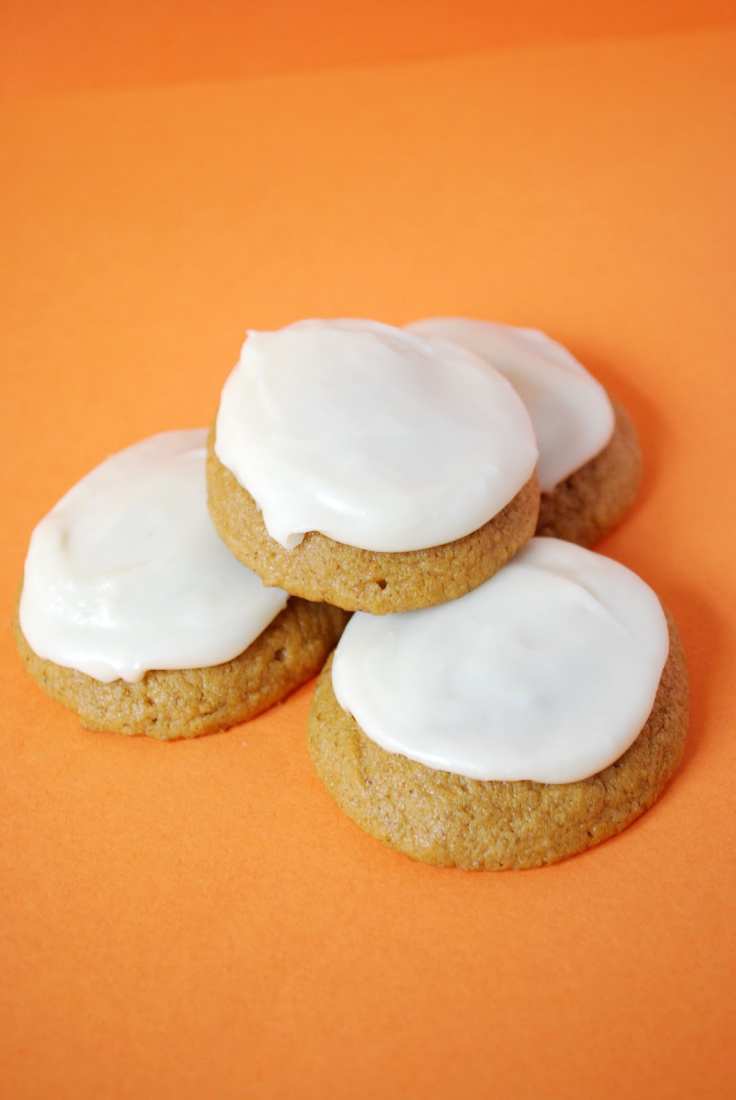 Bake.Frost.Repeat: Pumpkin Cookies with Brown Butter Frosting