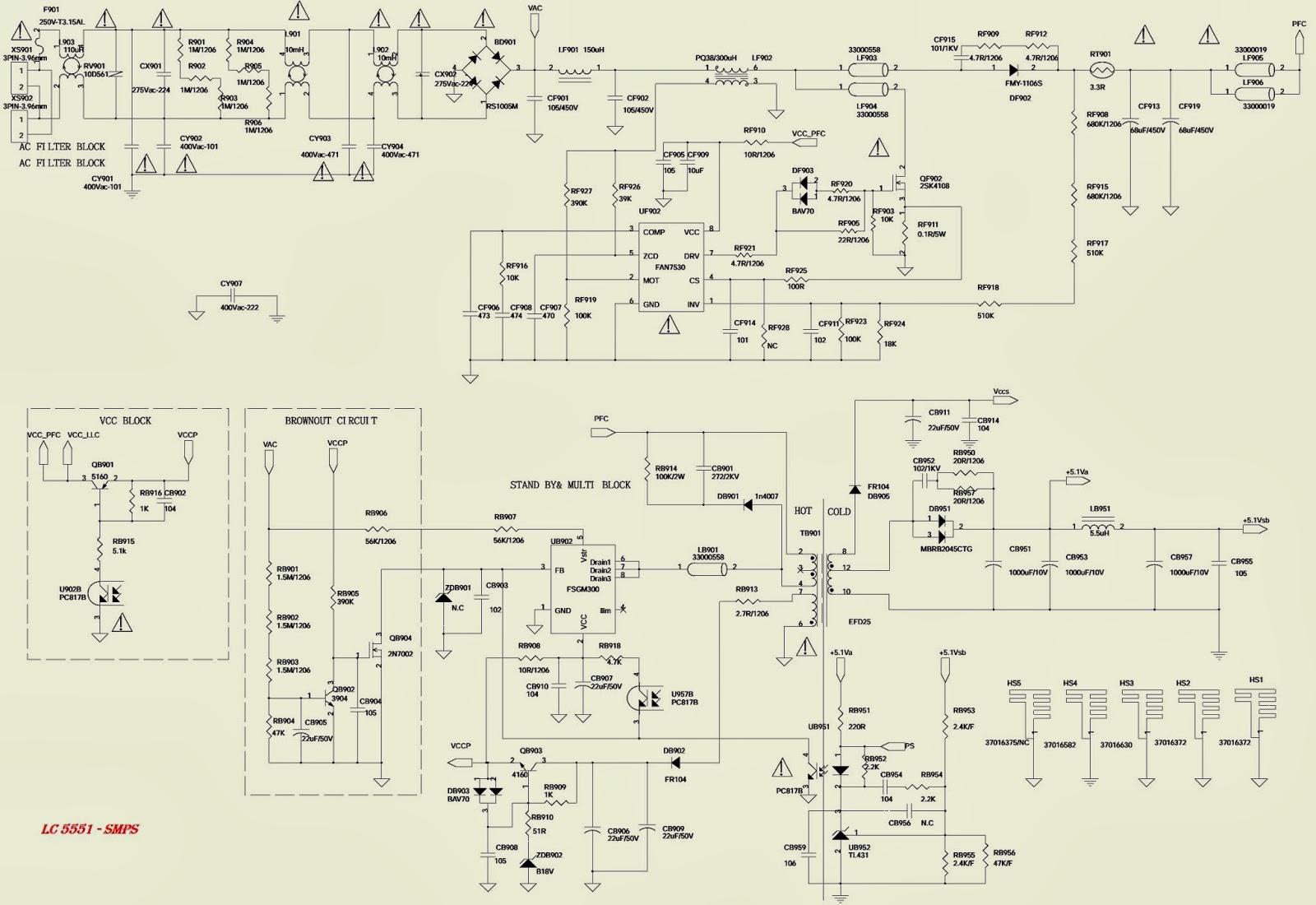 Схема телевизора tcl dt2103us
