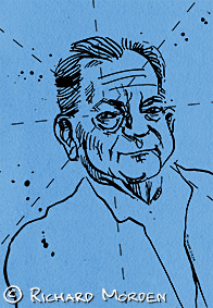 portrait of Jack Vance
