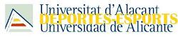 Universidad Alicante - ÁREA DE DEPORTES