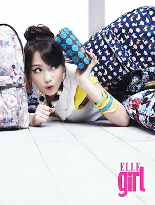 Kang Ji Young- Elle Girl Photoshoot