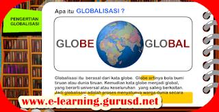 Inilah Globalisasi Dengan Nampak Positif Dan Negatif nya