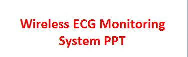 paper presentation: wireless ecg monitoring system ppt, Powerpoint templates