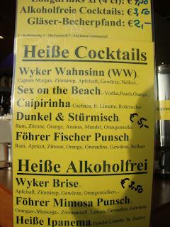 Silvester drinks