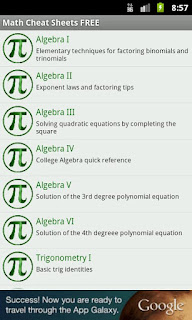 Math Cheat Sheets FREE.apk - 4 MB