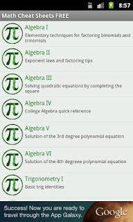 Math Cheat Sheets FREE.apk - 4 MB