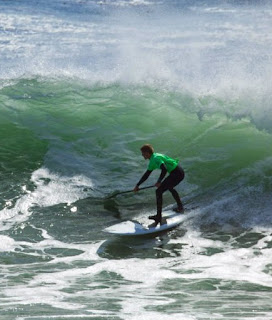 SUP surf racing this weekend in Santa Cruz