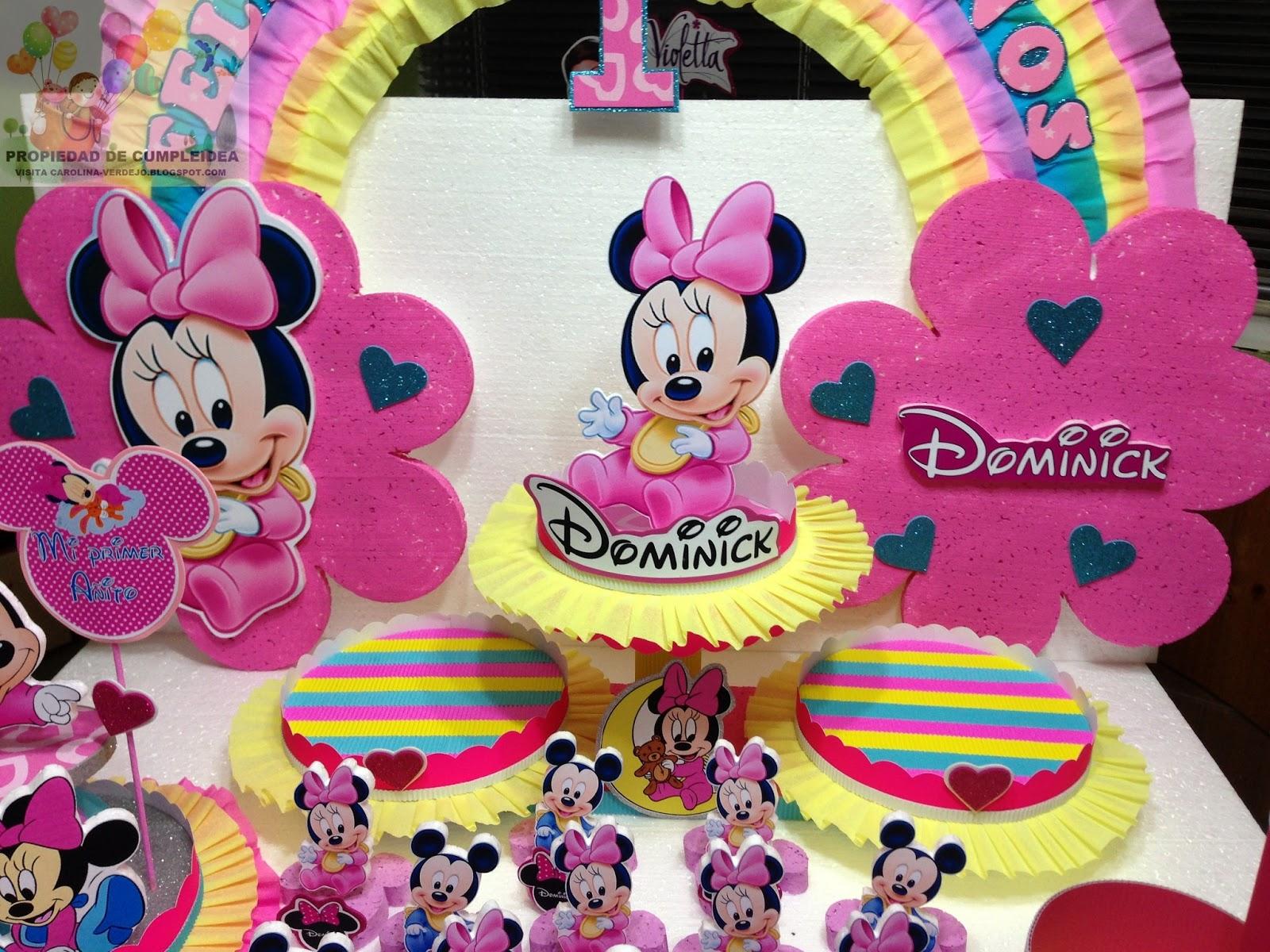 Decoracion Minnie Baby ~ DECORACIONES INFANTILES minnie baby