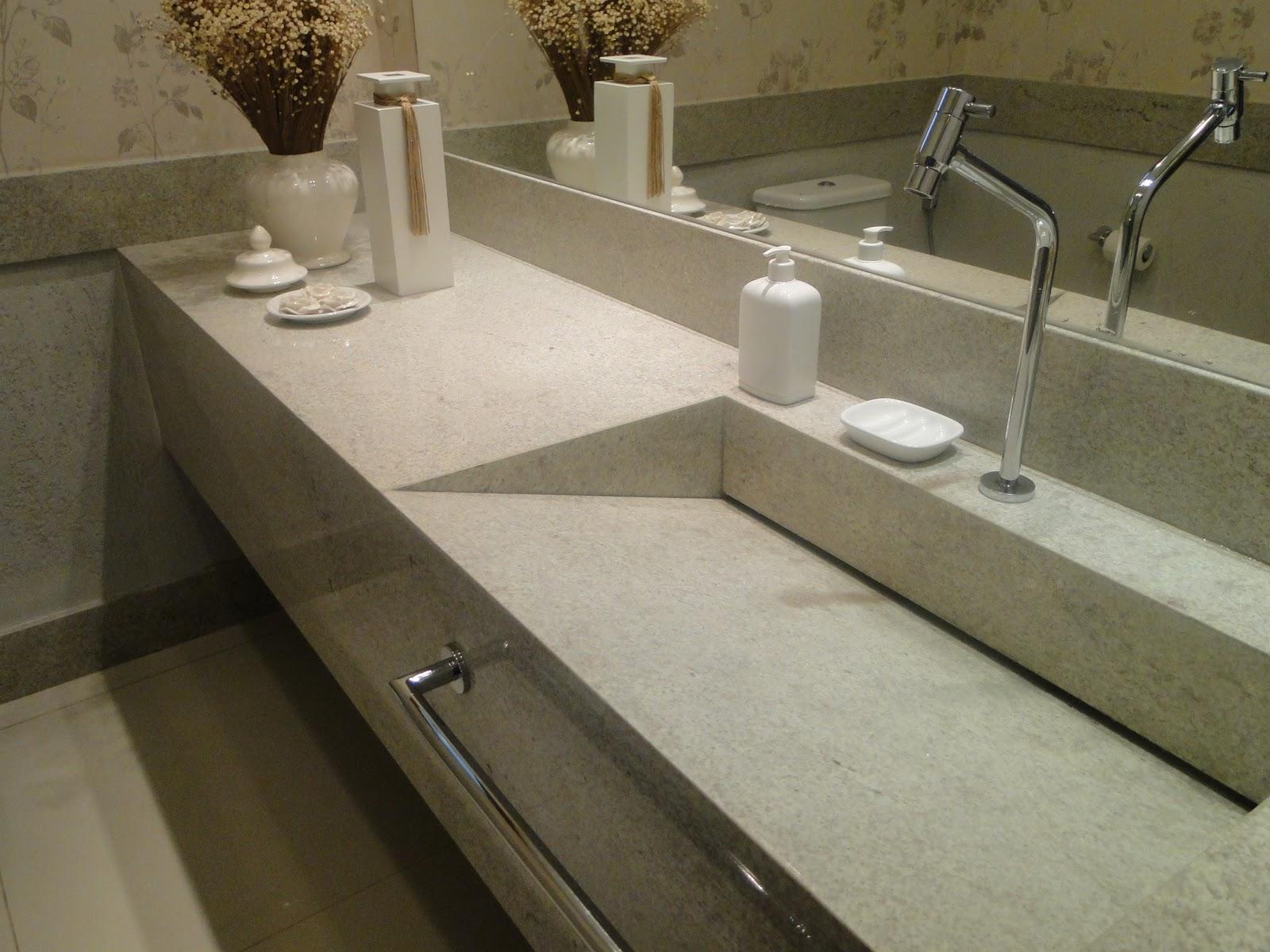 NV Arquitetura Banheiros -> Cuba Para Banheiro Em Granito