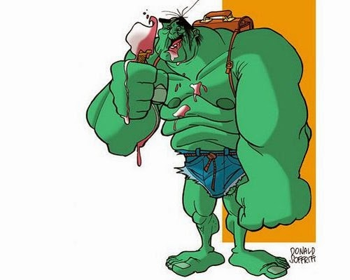 11-The-Hulk-Dr-Bruce-Banner-Donald-Soffritti-Cartoon-Cartoonist-Superheroes-in-Old-Age-www-designstack-co