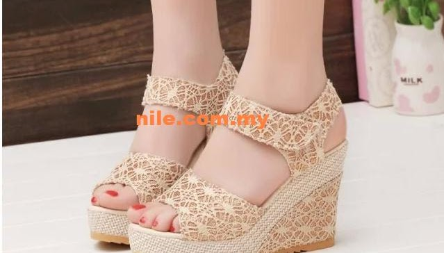 Peminat tegar high heel @ wedges