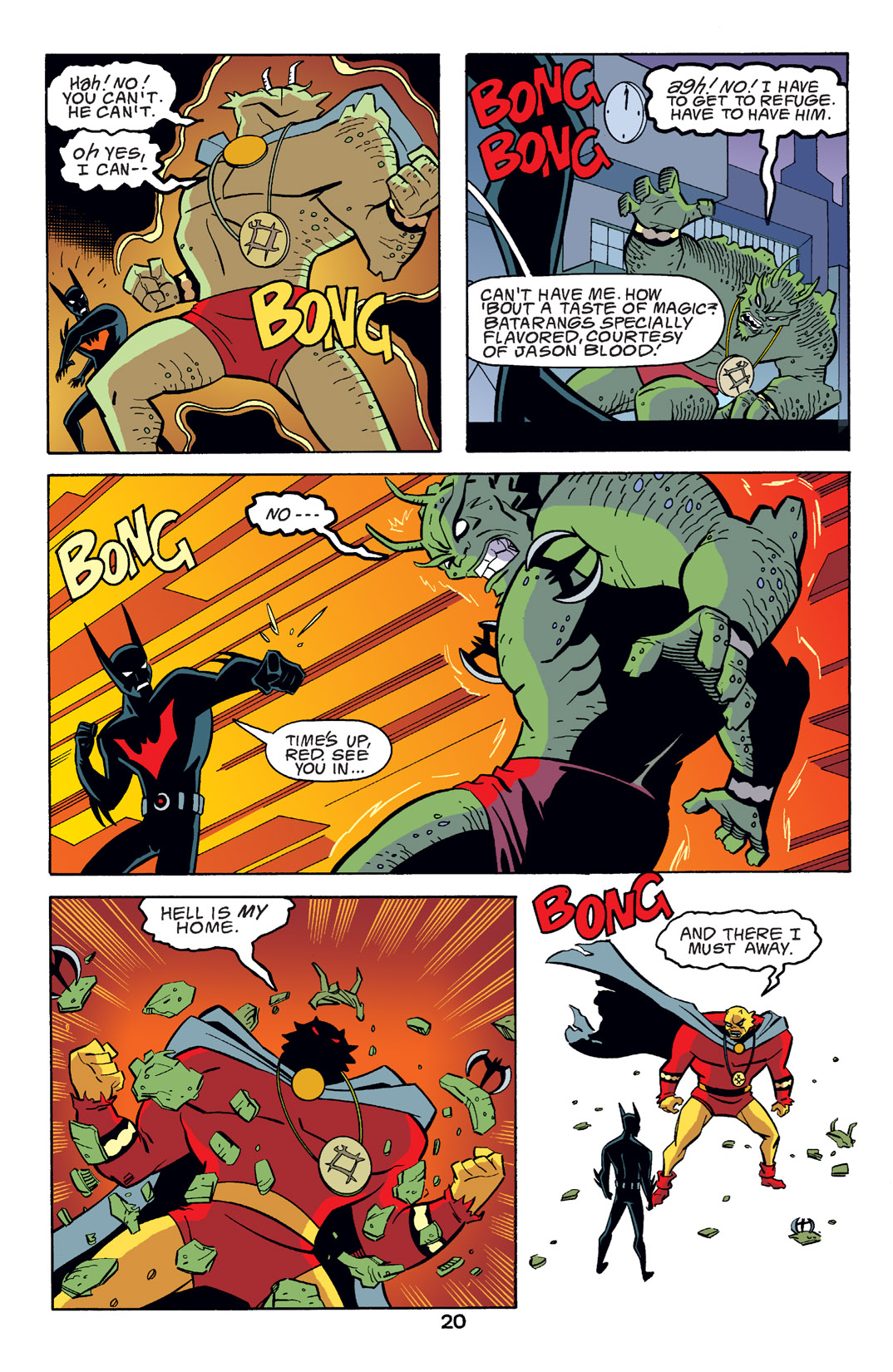 Batman Beyond [II] Issue #14 #14 - English 21