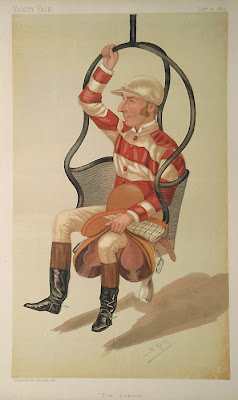The complete set of Vanity Fair Jockey cartoons