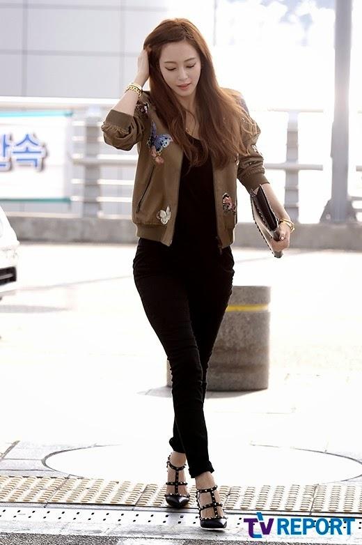 Yoon Eun Hye Han Ye Seul Incheon International Airport 8 March 2015