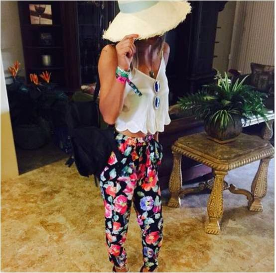 Jessica Szohr Coachella Ready 2015