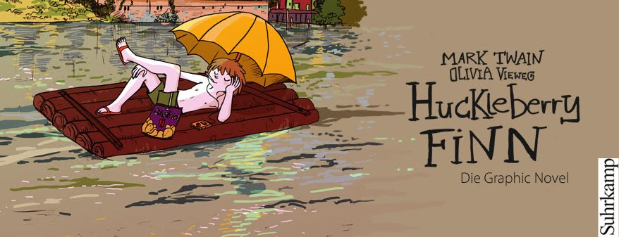 Huck Finn in Halle - Die Graphic Novel