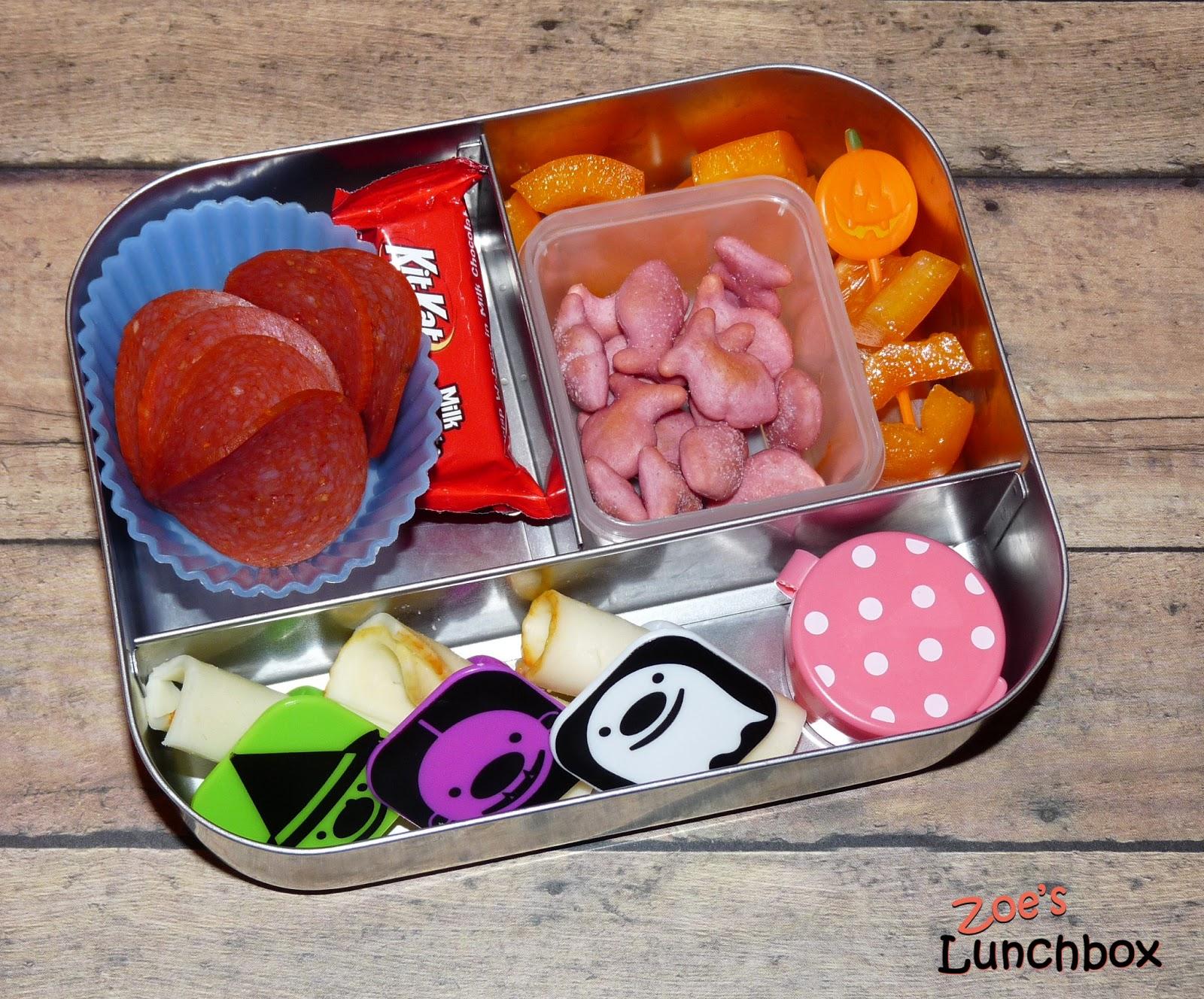 Halloween Lunchbots