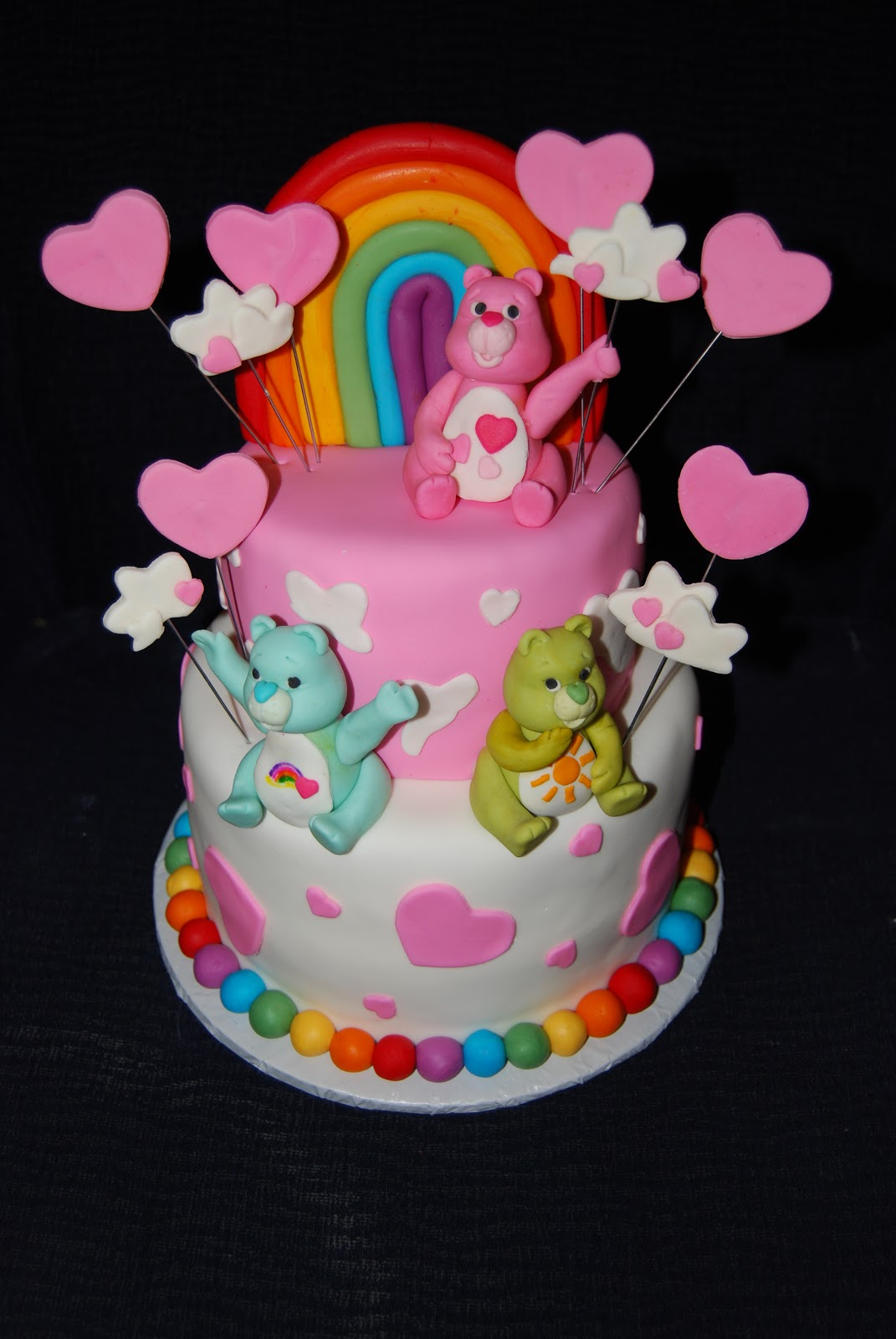 Care Bear Birthday Cake Images
