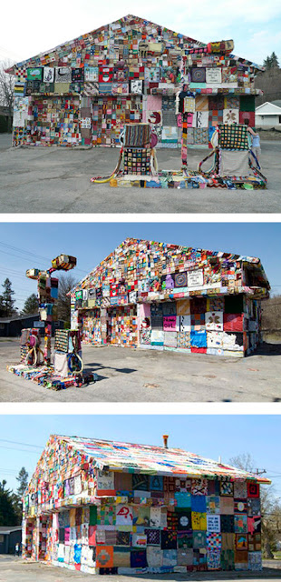 Crochet Gas Station