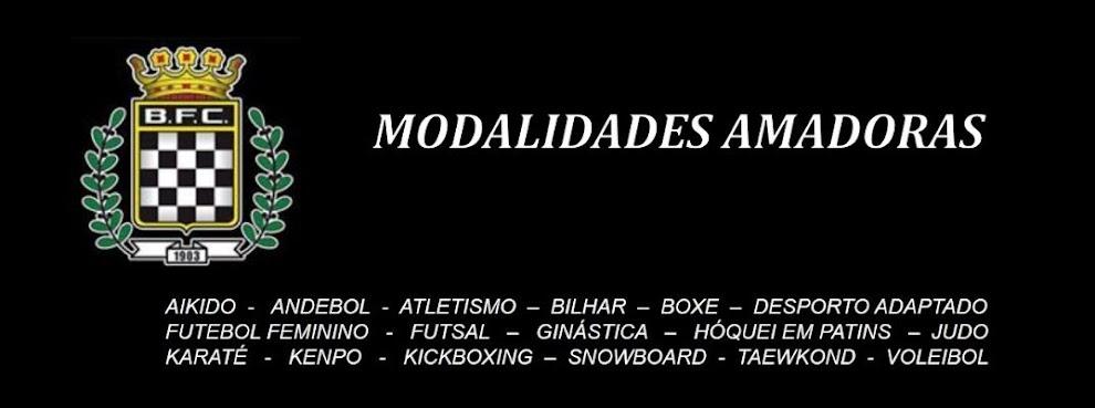 Boavista Futebol Clube - Modalidades Amadoras