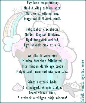 A Rímfaragó Pályázat nyertes verse!:)