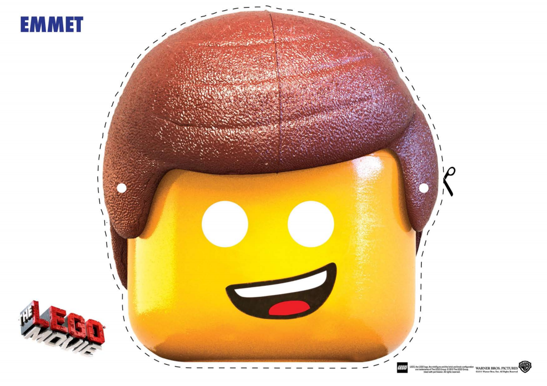 Lego Movie Free Printable Masks – Free Printable Face Masks